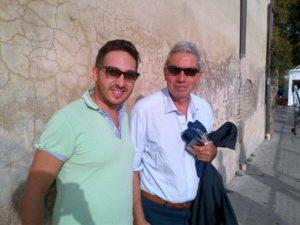 Con il Direttore de Il Fatto Quotidiano, A. Padellaro