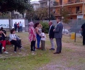 Inaugurazione Parco, incontro Sindaco Formica con comunità musulmana