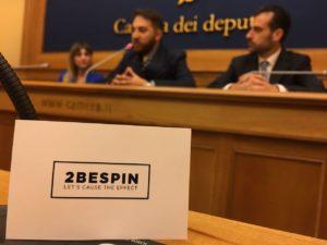 2BeSpin presenta alla Camera dei Deputati l'Ass. Prima il Territorio
