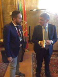 Con il Presidente dell'Ars Giovanni Ardizzone