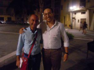 Con il Sindaco di Milazzo Giovanni Formica