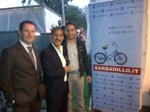 Redazione Barbadillo ad Atreju con l'On. La Russa e Sandro Pappalardo