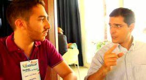 con Daniele Capezzone, resp. comunicazione Pdl (2010)