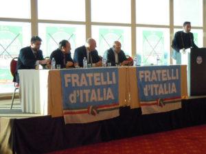 A Roma per le elezioni amministrative 2013 con l'On. Rampelli e l'On. Crosetto