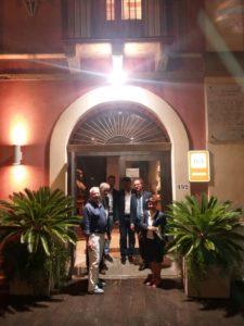 Al Museo di Tripi con il Prof. Ballistreri e l'On. Grasso