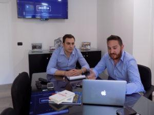 Un momento di pianificazione della strategia con un cliente